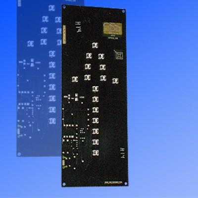 Сигнальный модуль 300мм стрелка зеленая