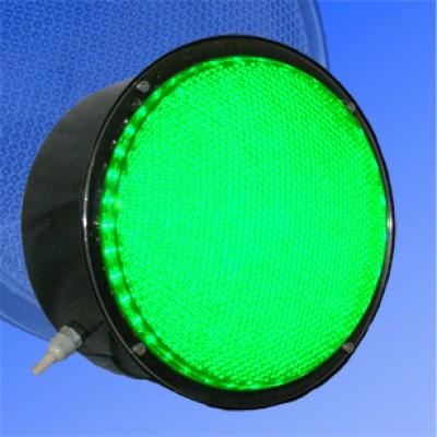 Сигнальный модуль в корпусе транспортный 200мм зеленый