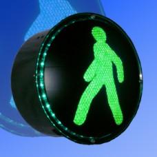 Вкладыш пешеходный 300мм (red,green)