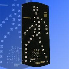 Сигнальный модуль пешеходный 300мм зеленый, с источником питания