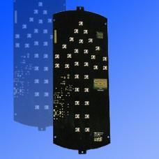 Сигнальный модуль 300мм стрелка зеленая, с источником питания