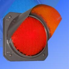 Секция 300мм Т.6.2 красная металлическая