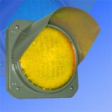 Секция 300мм Т.7.2 желтая металлическая