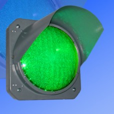 Секция 300мм Т.11.2 зеленая металлическая