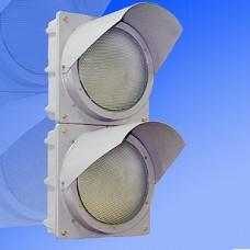 Светофор индустриальный 200мм Т.8.1 металлический ударопрочный (выбор сочетания цветов)